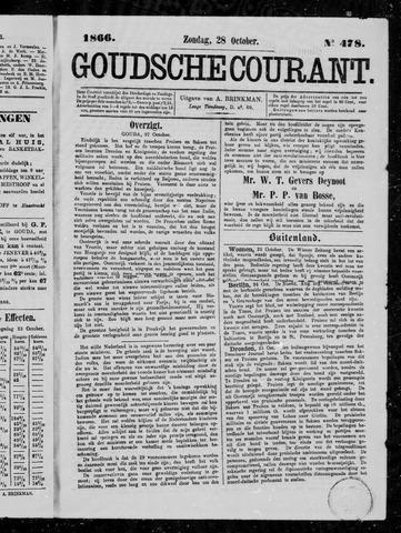 Goudsche Courant 1866-10-28