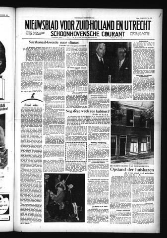 Schoonhovensche Courant 1956-09-12