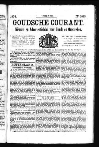 Goudsche Courant 1874-05-08