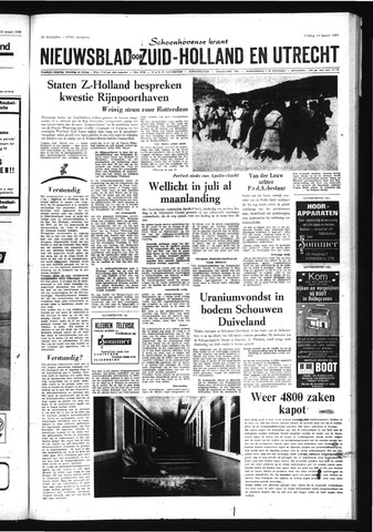 Schoonhovensche Courant 1969-03-14