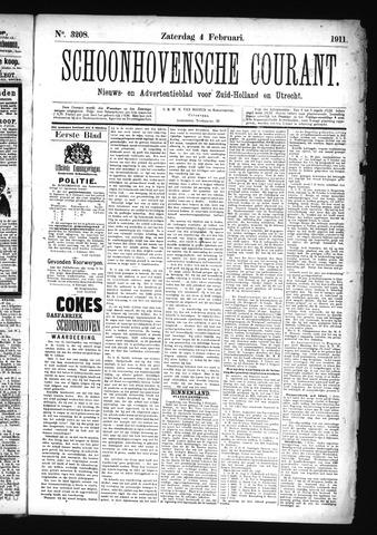 Schoonhovensche Courant 1911-02-04
