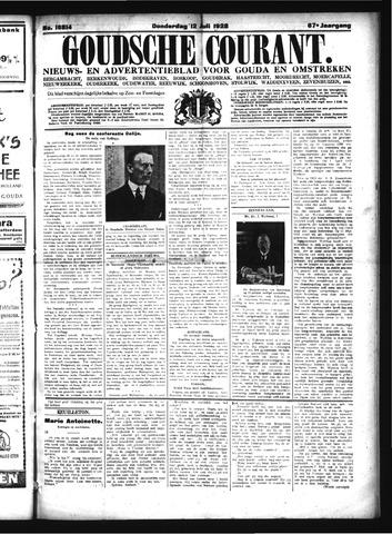 Goudsche Courant 1928-07-12