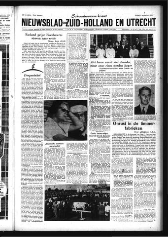 Schoonhovensche Courant 1959-09-04