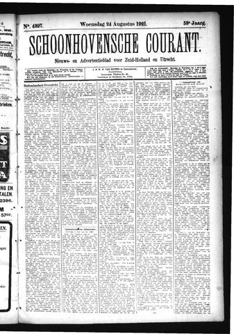 Schoonhovensche Courant 1921-08-24