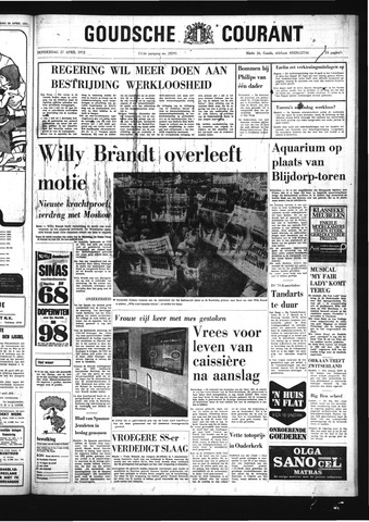 Goudsche Courant 1972-04-27
