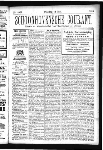 Schoonhovensche Courant 1918-05-14