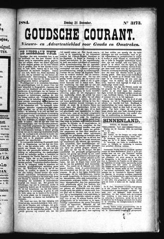 Goudsche Courant 1884-12-21