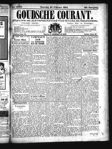 Goudsche Courant 1914-02-28