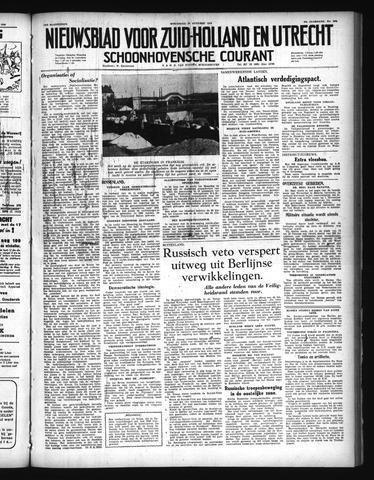 Schoonhovensche Courant 1948-10-27