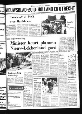 Schoonhovensche Courant 1978-08-28