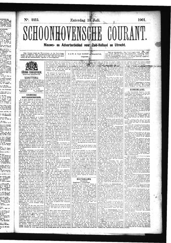 Schoonhovensche Courant 1901-07-13