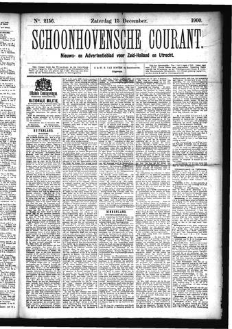 Schoonhovensche Courant 1900-12-15