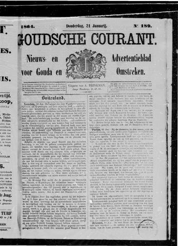 Goudsche Courant 1864-01-21