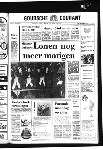Goudsche Courant 1977-06-25