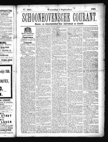 Schoonhovensche Courant 1895-09-04