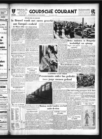 Goudsche Courant 1957-01-28
