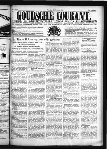 Goudsche Courant 1939-11-20