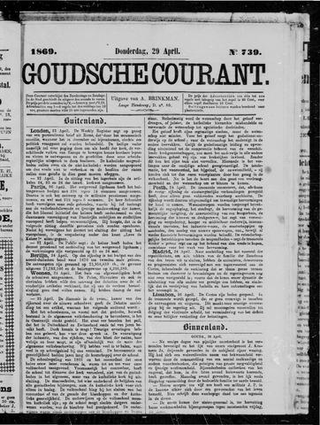 Goudsche Courant 1869-04-29