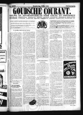 Goudsche Courant 1935-05-09