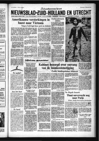 Schoonhovensche Courant 1968-02-14