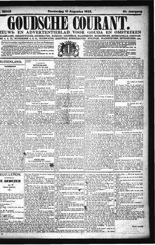 Goudsche Courant 1922-08-10