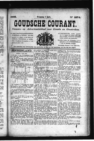 Goudsche Courant 1886-04-07