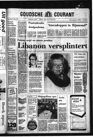 Goudsche Courant 1976-04-29