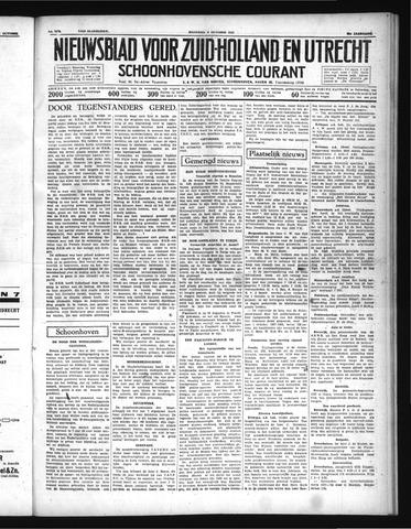 Schoonhovensche Courant 1937-10-04