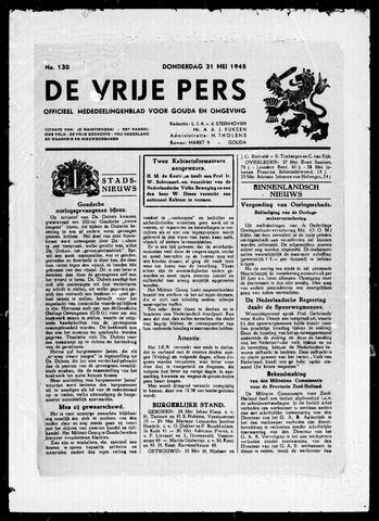 De Vrije Pers 1945-05-31