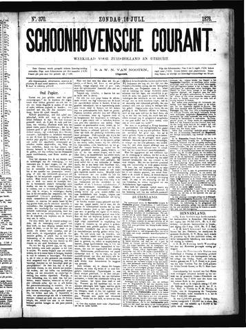 Schoonhovensche Courant 1876-07-16