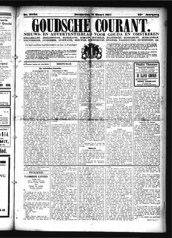 Goudsche Courant 1927-03-10