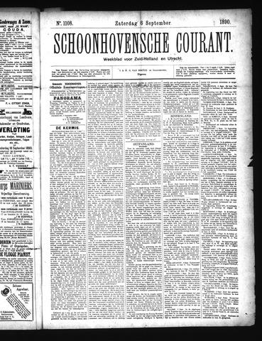 Schoonhovensche Courant 1890-09-06