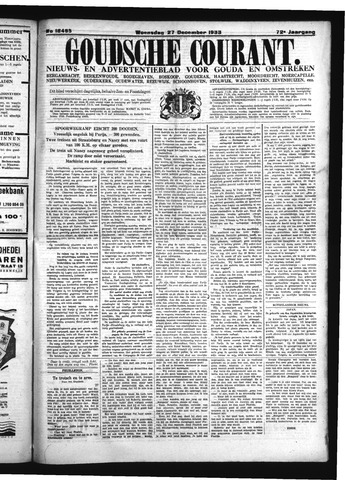 Goudsche Courant 1933-12-27