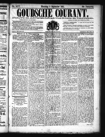 Goudsche Courant 1921-09-05