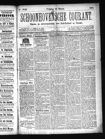 Schoonhovensche Courant 1916-03-10