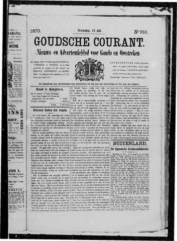 Goudsche Courant 1870-07-13