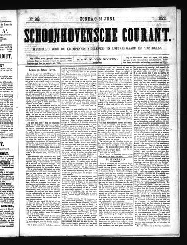 Schoonhovensche Courant 1873-06-29