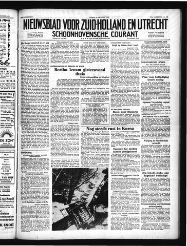 Schoonhovensche Courant 1950-12-15