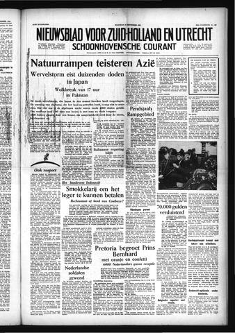 Schoonhovensche Courant 1954-09-27