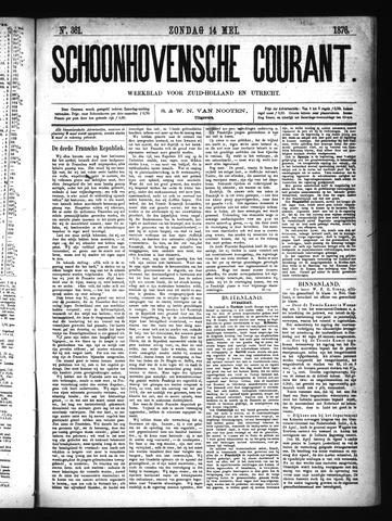 Schoonhovensche Courant 1876-05-14