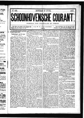 Schoonhovensche Courant 1877-06-17