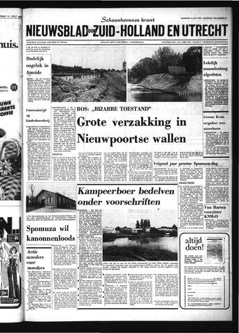 Schoonhovensche Courant 1975-07-14