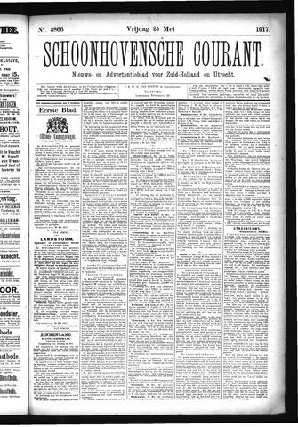 Schoonhovensche Courant 1917-05-25