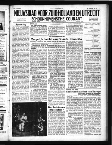 Schoonhovensche Courant 1950-09-20