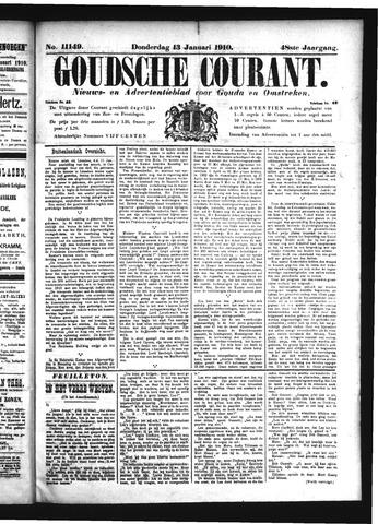 Goudsche Courant 1910-01-13