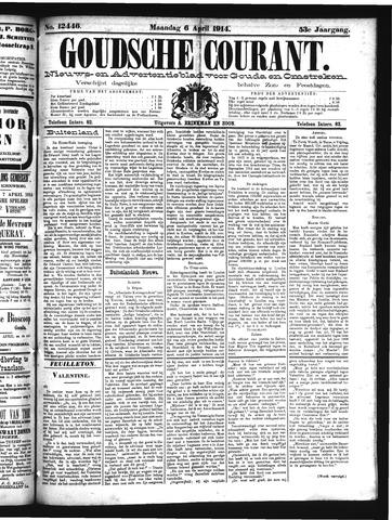 Goudsche Courant 1914-04-06