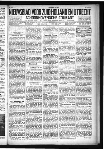 Schoonhovensche Courant 1932-06-20
