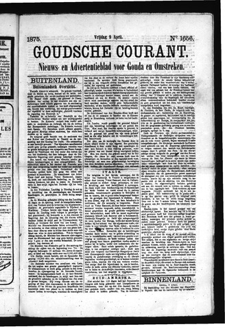 Goudsche Courant 1875-04-09