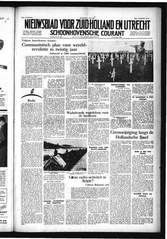 Schoonhovensche Courant 1954-06-02