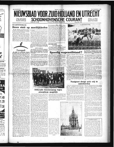 Schoonhovensche Courant 1952-07-18